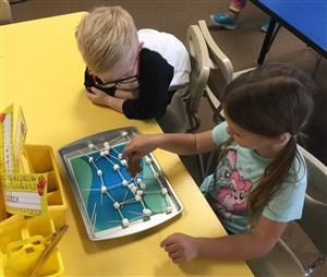 Bridge Building in Kindergarten